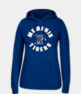 Women's J. America Memphis Tigers College Cotton Pullover Hoodie