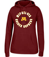 Women's J. America Minnesota Golden Gophers College Cotton Pullover Hoodie