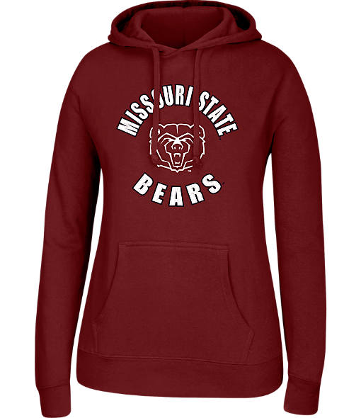 Women's J. America Missouri State Bears College Cotton Pullover Hoodie