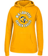 Women's J. America Marquette Golden Eagles College Cotton Pullover Hoodie