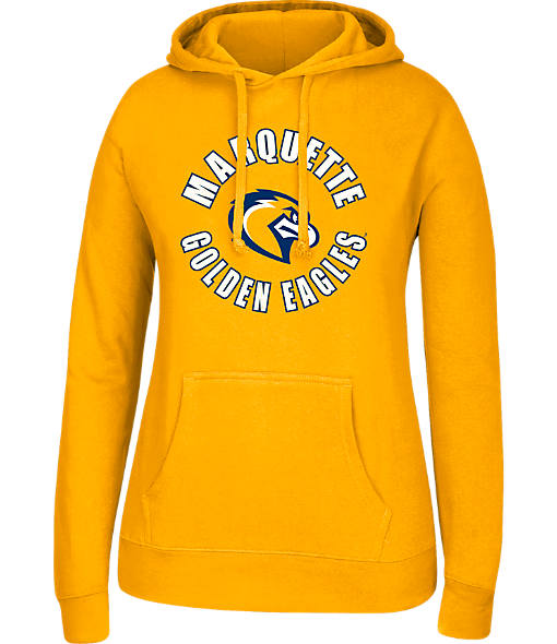 Women's J. America Marquette Golden Eagles College Cotton Pullover Hoodie