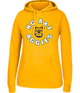Women's J. America North Carolina A & T State Aggies College Cotton Pullover Hoodie