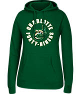Women's J. America UNC - Charlotte 49ers College Cotton Pullover Hoodie