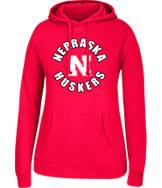 Women's J. America Nebraska Cornhuskers College Cotton Pullover Hoodie