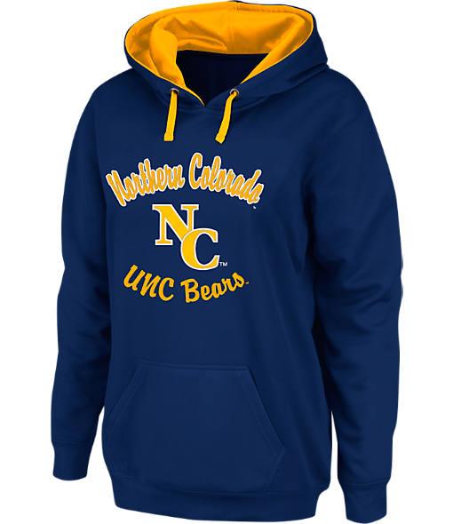 Women's Stadium Northern Colorado Bears College Cotton Pullover Hoodie