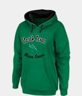Women's Stadium North Texas Mean Green College Cotton Pullover Hoodie