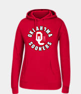 Women's J. America Oklahoma Sooners College Cotton Pullover Hoodie