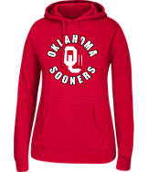 Women's J. America Oklahoma Sooners College Cotton Pullover Hoodie