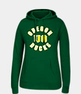 Women's J. America Oregon Ducks College Cotton Pullover Hoodie