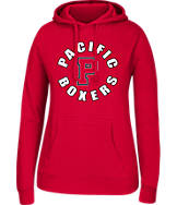 Women's J. America Pacific Boxers College Cotton Pullover Hoodie