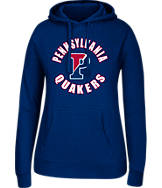 Women's J. America Penn Quakers College Cotton Pullover Hoodie
