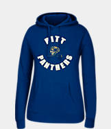 Women's J. America Pitt Panthers College Cotton Pullover Hoodie