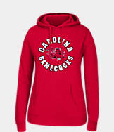 Women's J. America South Carolina Gamecocks College Cotton Pullover Hoodie