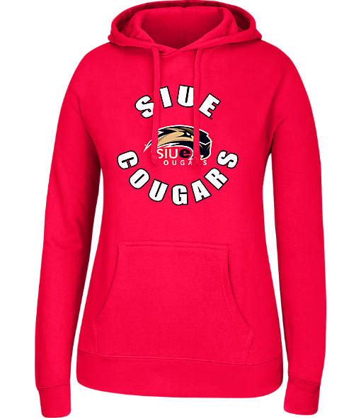 Women's J. America SIU - Edwardsville Cougars College Cotton Pullover Hoodie