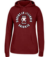Women's J. America Southern Illinois Salukis College Cotton Pullover Hoodie