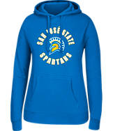 Women's J. America San Jose Sharks College Cotton Pullover Hoodie