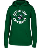 Women's J. America Slippery Rock University College Cotton Pullover Hoodie