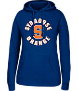 Women's J. America Syracuse Orange College Cotton Pullover Hoodie