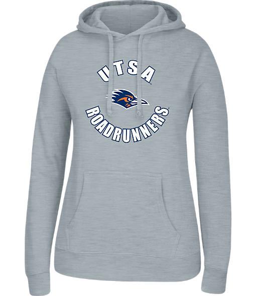 Women's J. America Texas - San Antonio Roadrunners College Cotton Pullover Hoodie