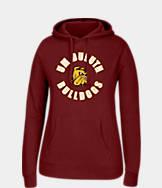 Women's J. America Minnesota Duluth Bulldogs College Cotton Pullover Hoodie