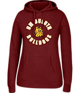 Women's J. America Minnesota Duluth Bulldogs College Cotton Pullover Hoodie