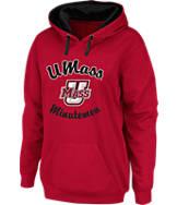 Women's J. America UMass Minutemen College Cotton Pullover Hoodie