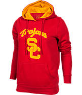 Women's J. America USC Trojans College Cotton Pullover Hoodie