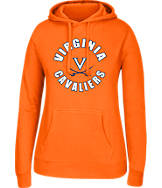 Women's J. America Virginia Cavaliers College Cotton Pullover Hoodie