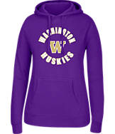 Women's J. America Washington Huskies College Cotton Pullover Hoodie