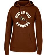 Women's J. America Western Michigan Broncos College Pullover Hoodie