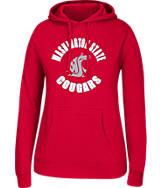 Women's J. America Washington State Cougars College Cotton Pullover Hoodie