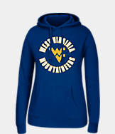 Women's J. America West Virginia Mountaineers College Cotton Pullover Hoodie