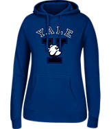 Women's J. America Yale Bulldogs College Cotton Pullover Hoodie