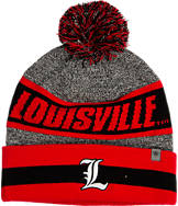 Top Of The World Louisville Cardinals College Cumulus Knit Beanie Hat