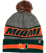 Top Of The World Miami Hurricanes College Cumulus Knit Beanie Hat