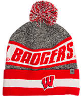 Top Of The World Wisconsin Badgers College Cumulus Knit Beanie Hat