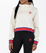 Women's adidas Originals Embellished Arts Cropped Hoodie