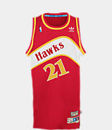 Men's adidas Atlanta Hawks NBA Dominique Wilkins Soul Jersey