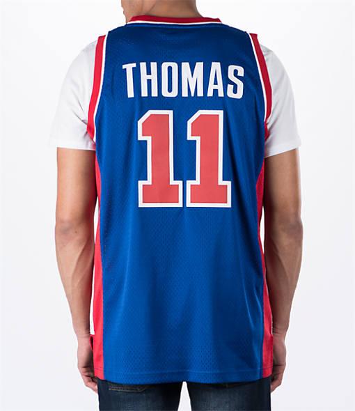 Men's adidas Detroit Pistons NBA Isiah Thomas Soul Jersey