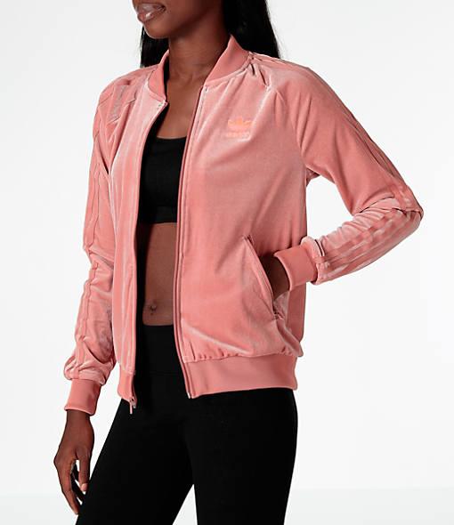 Women's adidas Originals Velvet Vibes SST Track Jacket