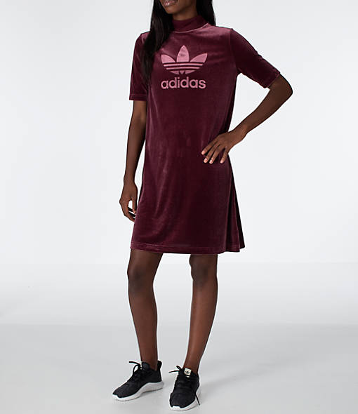 Women's adidas Originals Velvet Vibes Short Dress