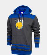 Men's Majestic Golden State Warriors NBA Double-Double Pullover Hoodie