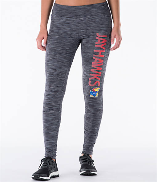 Women's College Concepts Kansas Jayhawks Latitude Leggings