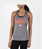 Women's College Concepts Denver Broncos NFL Latitude Tank