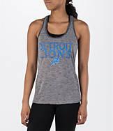 Women's College Concepts Detroit Lions NFL Latitude Tank