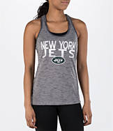 Women's College Concepts New York Jets NFL Latitude Tank