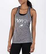 Women's College Concepts Philadelphia Eagles NFL Latitude Tank