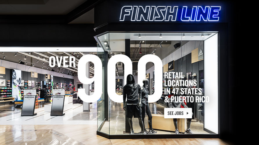Finish Line Jobs.