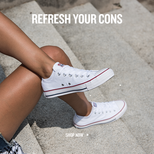 Refresh Your Cons. Shop Converse.