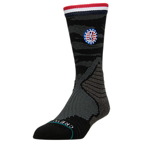Men's Stance NBA Support The Troops Crew Socks